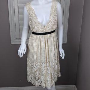 BCBGMAXAZRIA Lace Cocktail Dress